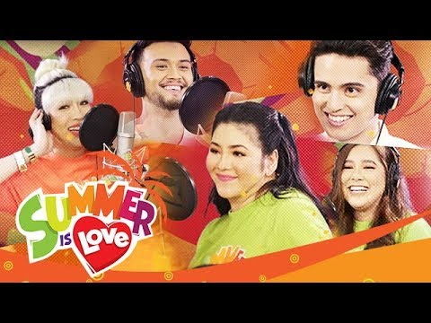 """ABS-CBN Summer Station ID 2019 """"Summer Is Love"""" Recording Music Video"""