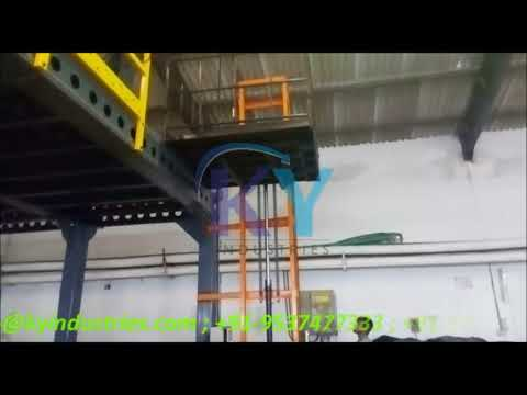 Flame Proof Hydraulic Goods Lift