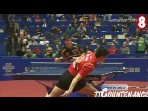מצעד מכות הפינג-פונג הטובות ביותר ל-2012