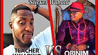 Teacher Kwadwo Interviews Angel Obinim about STICKER WAHALA😂