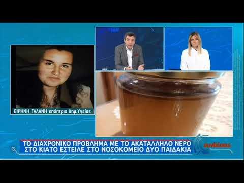 Ε. Γαλάνη: Το ακατάλληλο νερό στο Κιάτο έστειλε στο νοσοκομείο δύο παιδιά ΕΡΤ 26/01/2021