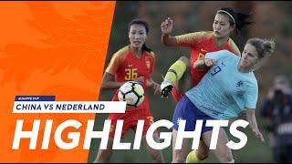 Highlights: China - OranjeLeeuwinnen (06/03/2019) Algarve Cup