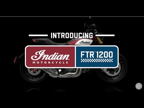 2019 Indian FTR™ 1200 in Neptune, New Jersey - Video 2