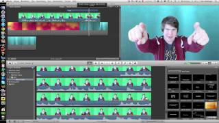 iMovie 11 Effects Test Video - Green Screen Effect