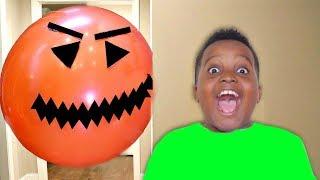 Bad Baby GIANT BALLOON vs Shiloh And Shasha - Onyx Kids