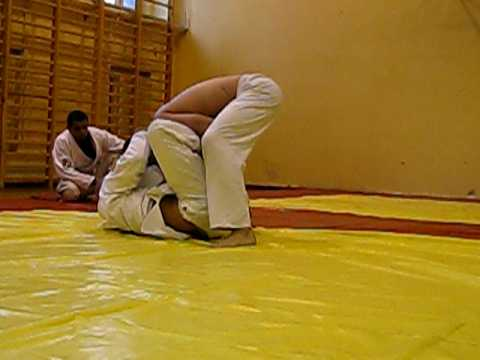 Indianapolis Jiu Jitsu Coach: Professor Marcello training BJJ in Poland