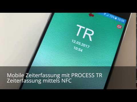 Zeiterfassung mittels NFC