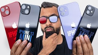 Apple iPhone 13 & Apple iPhone 13 Mini vs Apple iPhone 12 & Apple iPhone 12 Mini