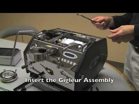 Replacing the Gigleur in a La Marzocco GS3