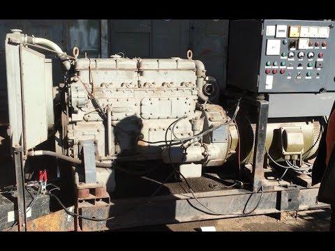 Dieselmaschine um das Endprodukt zu testen