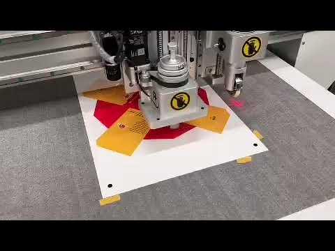 Carton Box Sample Maker Cutting Machine