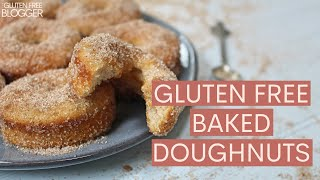 HOW TO MAKE GLUTEN FREE BAKED DOUGHNUTS | SUPER EASY RECIPE!