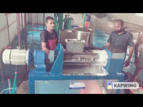 STAINLESS STEEL COCONUT MILK EXTRACTOR IN INDIA