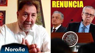 La Renuncia del Secretario de Hacienda y la Firmeza de AMLO - Noroña en Vivo