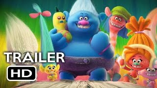 Trolls Official Trailer #1 (2016) Justin Timberlake, Anna Kendrick Animated Movie HD
