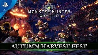 Monster Hunter: World - Autumn Harvest Fest | PS4