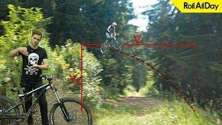 Как прыгать жесткие дропы на велосипеде