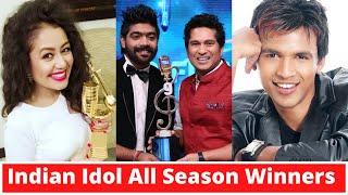 Indian Idol 1 11 All Winners, Indian Idol Winners List of All Seasons - Neha Kakkar, Pawandeep Rajan