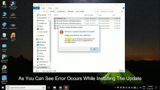 how to fix installer encountered an error 0x8007042 - Thủ thuật máy