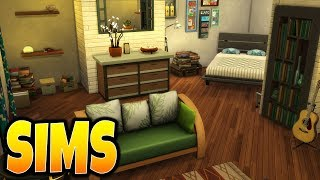 Sims 4 Speed Build Hipster Bedroom