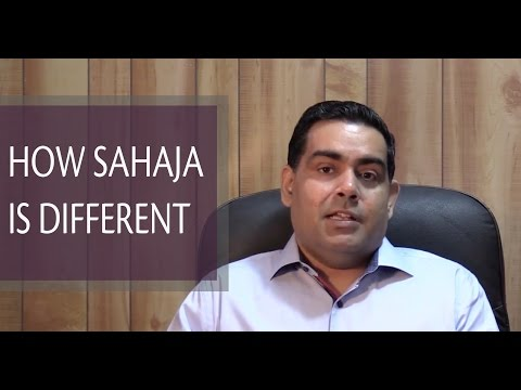 How Sahaja is different