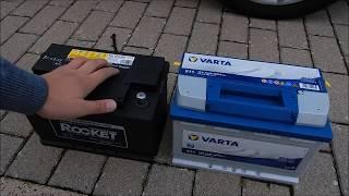 AUTOtorial - Batterie tauschen/wechseln - DIY