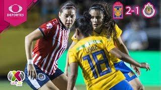 ¡Tigres Amarra Liguilla!   Tigres 2 - 1 Chivas   Liga MX Femenil - J17   Televisa Deportes