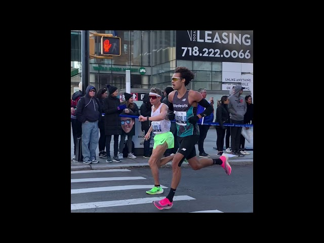 I Found Seth James Demoor At The New York City Marathon 2019