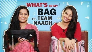 What's In My Bag Ft. Sonal & Nicole Aka Team Naach (Swapped)
