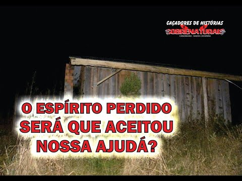 O ESPÍRITO DA CASA ABANDONADA - SERÁ QUE ACEITOU NOSSA AJUDÁ?
