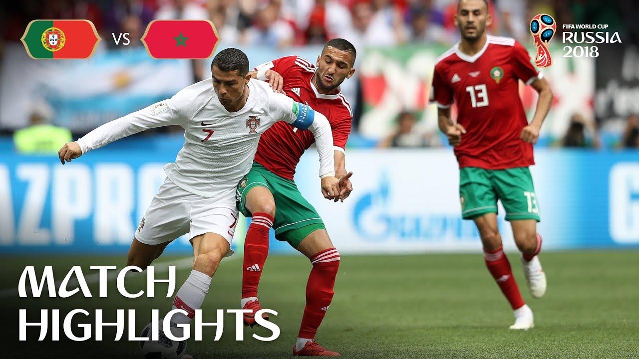 Portugal vs Morocco 1-0 Highlights 20 June 2018 FIFA World Cup Russia 2018