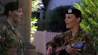 And the Band Played Waltzing Matilda - The Lancer Band (Australian Army)