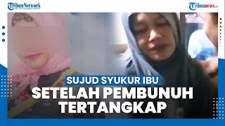 Sujud Syukur Ibu Korban saat Tahu Oknum Polisi Medan yang Bunuh Anaknya Ditangkap