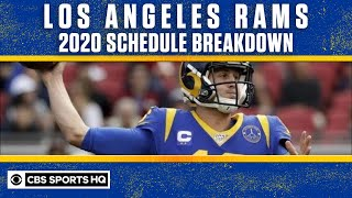 Los Angeles Rams have A LOT OF QUESTIONS going into their 2020 Schedule | CBS Sports HQ