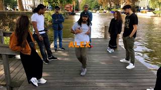 Alex The Cage - Hip Hop Freestyle in Amsterdam