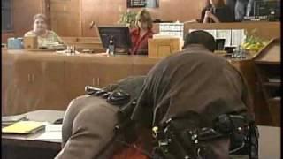 Convicted Murderer Fights Deputies At Sentencing
