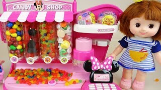 Baby Doll and Candy dispenser shop toys baby Doli play