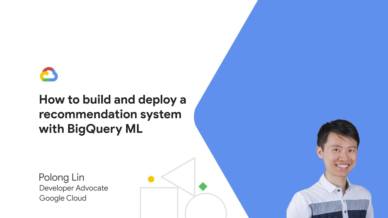 Learn how to use BigQuery ML to train and deploy a recommendation system.