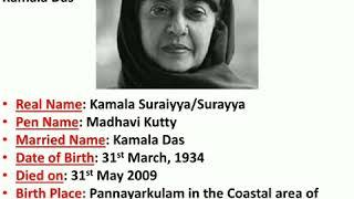 Kamala Das- The Great Woman Poet