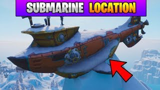 Fortnite Dance on Top of a Submarine Location (Stage 3) Fortnite Season 7 Week 1 Challenges!