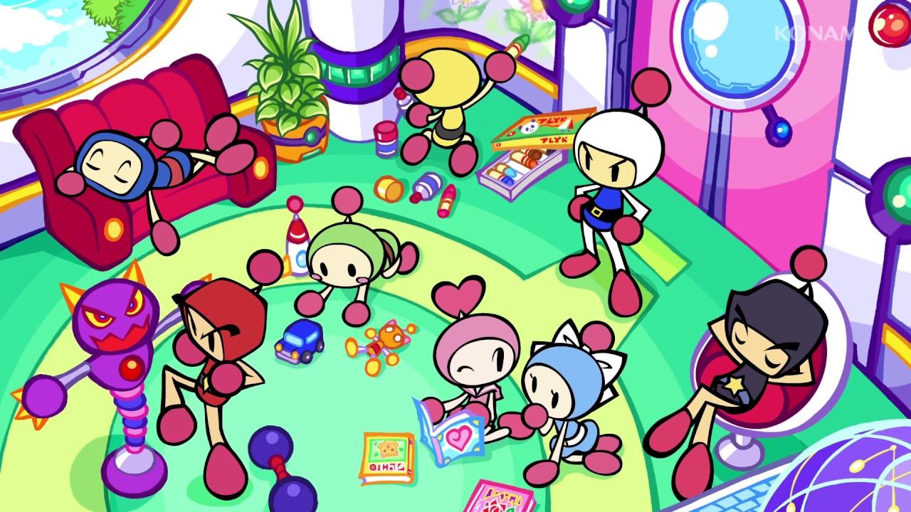Super Bomberman R - Introduzione animata