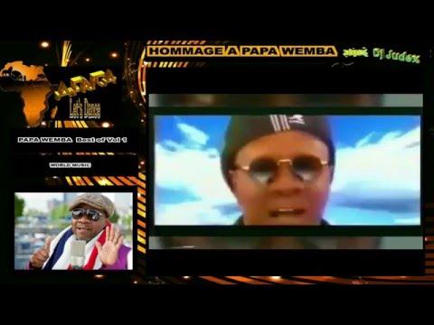 HOMMAGE A PAPA WEMBA [ Best of Vol 1 (WORLD) – DJ JUDEX ]