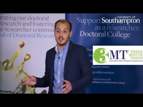 Carlos Lamaz Fernandez, Three Minute Thesis | University of Southampton