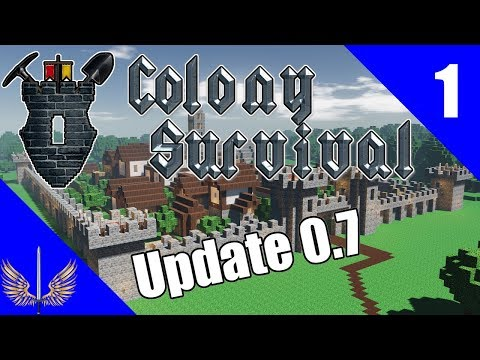 Colony Survival - Update 0.7 - Singleplayer Showcase - Episode 1