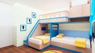 30 Bunk Bed Idea for Modern Bedroom - Room Ideas
