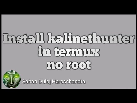 how to Install Kali Linux in Termux no root android Only