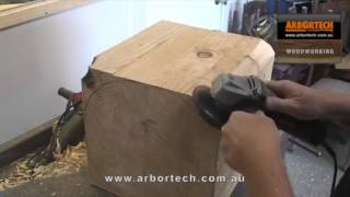 Arbortech Turboplane Blade  Making A Coffee Table