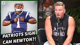 Can Cam be the talent that the Patriots need?  This is a clip from The Pat McAfee Show live from 10am-Noon EST Mon-Fri.  SUBSCRIBE: https://www.youtube.com/channel/UCxcTeAKWJca6XyJ37_ZoKIQ?sub_confirmation=1  MERCH: https://store.patmcafeeshow.com
