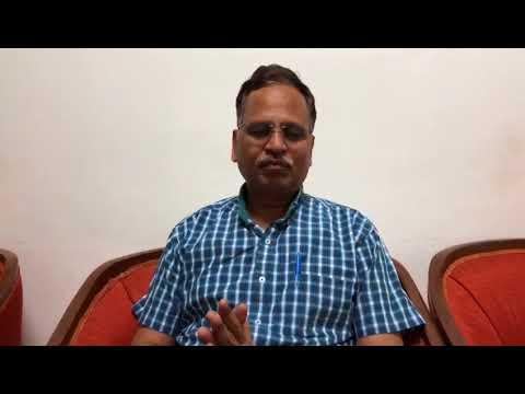 Minister Satyender Jain's Byte From LG House