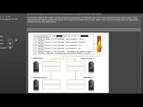 CompTIA Security+ Practice Test Question - Performance Based ...